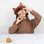 Lady-Sweet-Fox-Ear-Beret-Cap-Lolita-Vintage-Genuine-Barett-Wool-Warm-Painter-Hat thumbnail 5
