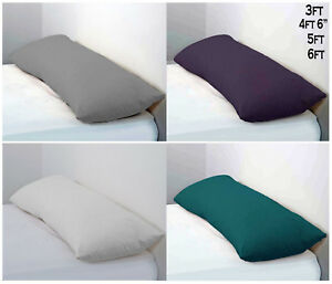 Long-Bolster-Pillow-amp-Pillow-Case-Body-Pillow-Neck-Support-3Ft-4Ft6-5Ft-6Ft