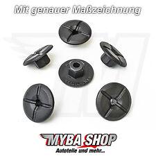 10x KUNSTSTOFFMUTTER MERCEDES & BMW KUNSTSTOFF MUTTER RADHAUSSCHALE 2019900050