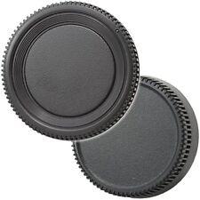 Objektiv & Rückdeckel Gehäusedeckel kompatibel mit Nikon D7000 D800 D90 D300