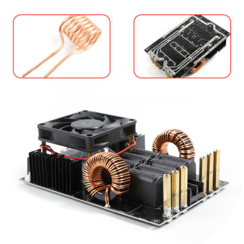 50A 1000W ZVS Low voltage induction heating board module heater with Fan Cooling