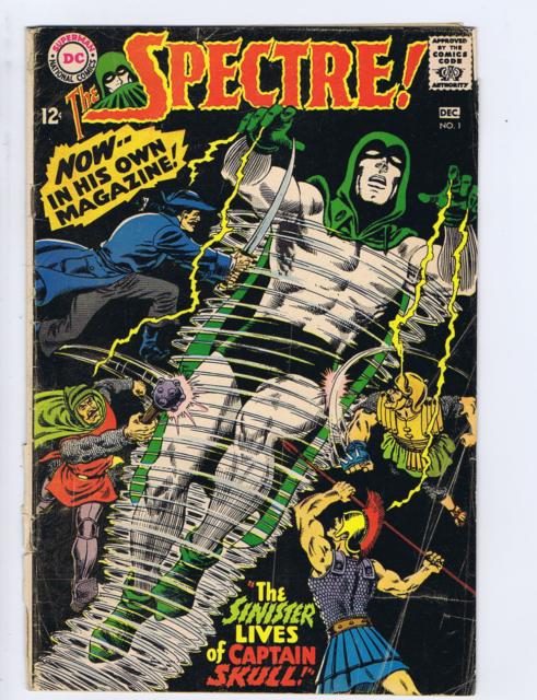 Spectre #1 DC Pub 1967