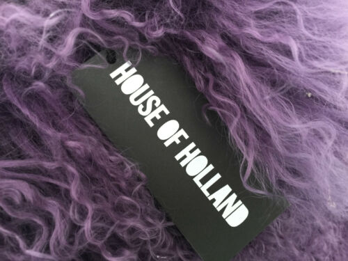 Purple Of Large Fur Bag House Bnwt Tote Holland Mongolian rCsdBthQxo