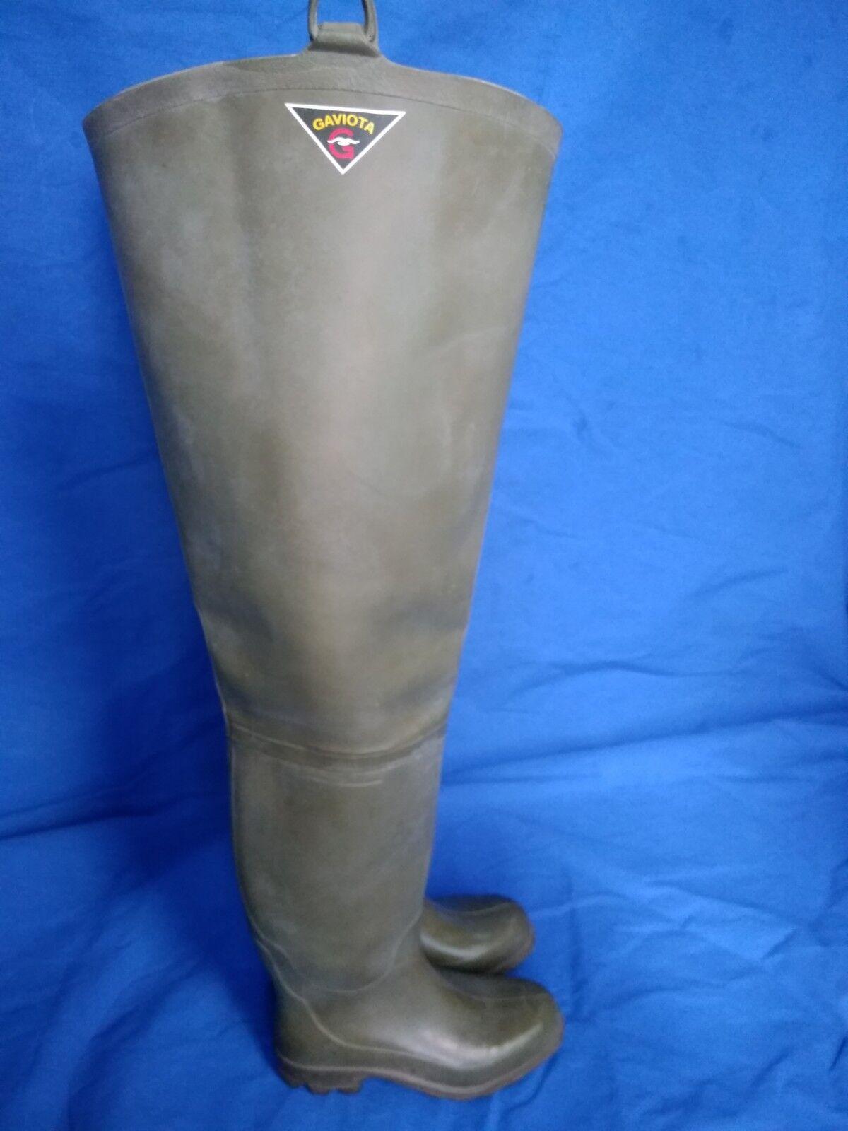 Rubber boots wader gummi botas altas de pesca,marca GAVIOTA