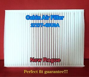 27277 4bu0a replacement cabin air filter for the newest nissan rogue 2014 16 ebay. Black Bedroom Furniture Sets. Home Design Ideas