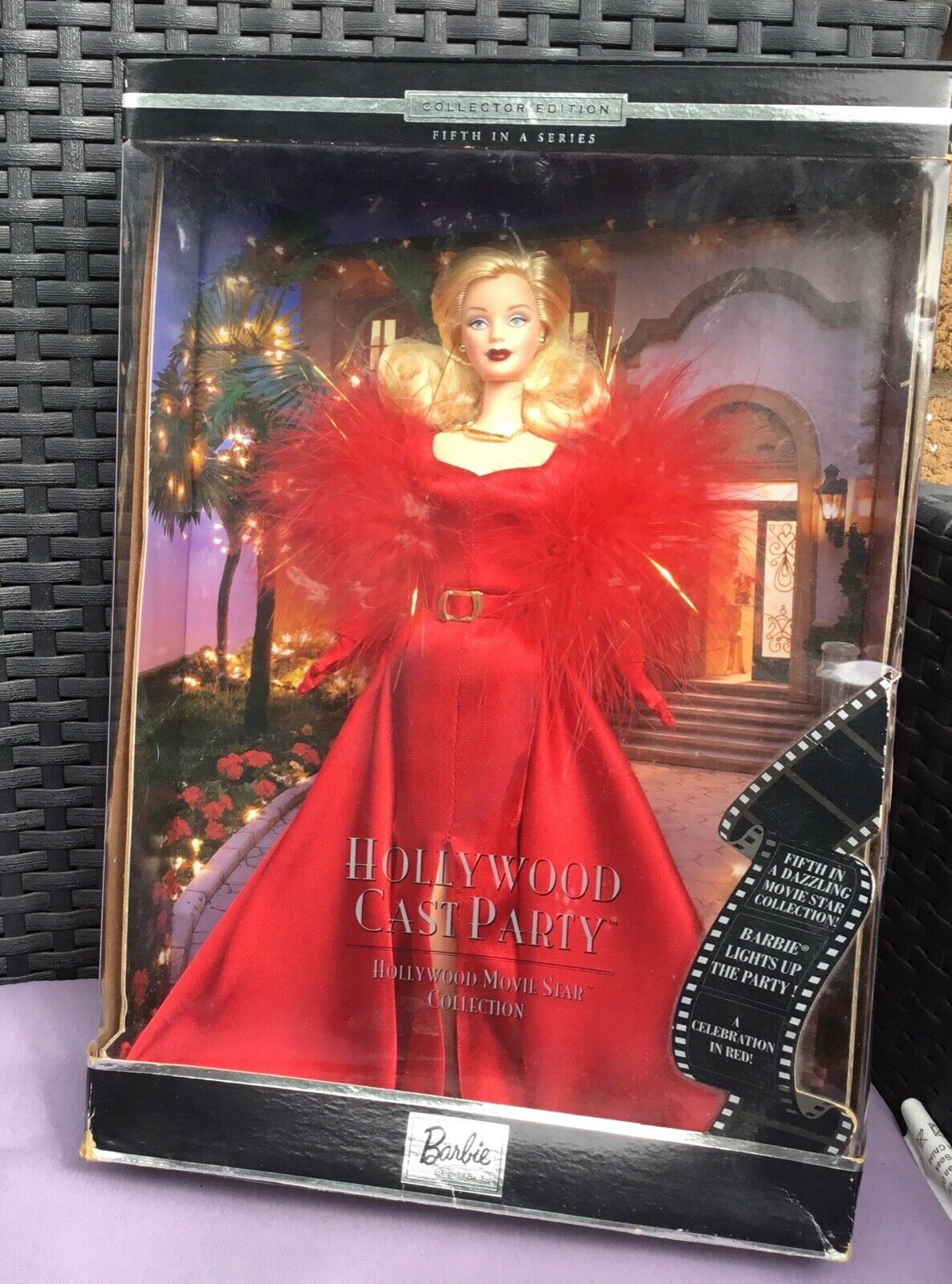 2001 COLLETTORE EDT Hollywood star del cinema COLLEZIONE CAST HOLLYWOOD PARTY BARBIE