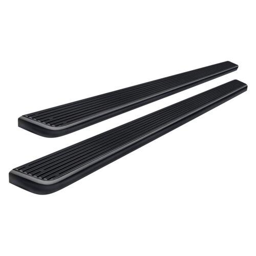"For Chevy Silverado 2500 99-14 APG 5/"" iStep Cab Length Black Running Boards"