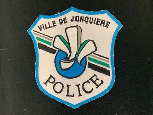 Quebec-Police-Patch-Ville-de-Jonquiere-Quebec-Canada