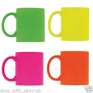 Neon-310ml-Ceramique-Brillant-Couleur-Cafe-Mug-The-Moderne-Tasse-Cuisine