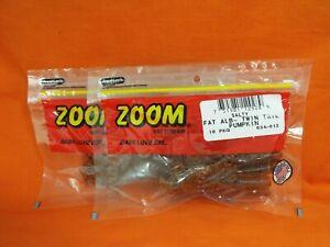 #034-248 GREEN PUMPKIN PURPLE 2PKS ZOOM Fat Albert Twin Tail 10cnt