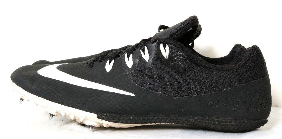 f16f20226927 ... Nike 806554-001 Zoom Rival S S S Black White Mesh Track Running Spikes  Men s US ...