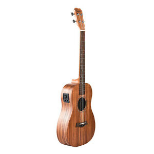 Caramel-CB204-All-Solid-Acacia-Baritone-Acoustic-Electric-Ukulele-With-Truss-Rod