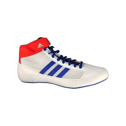 Adidas Havoc Wrestling schuhe Boxing Stiefel Trainers Pumps Mens Adults Weiß Blau