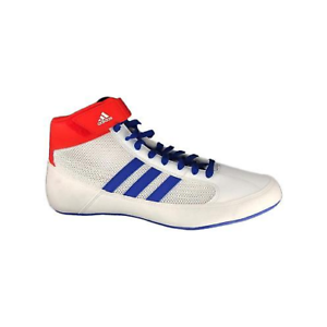 Details zu Adidas Havoc Wrestling Shoes Boxing Boots Trainers Pumps Mens Adults White Blue