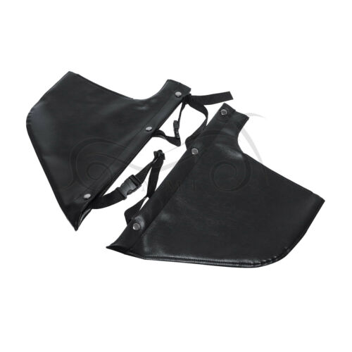 Vinyl Engine Guard Chaps Soft Lowers Leg for Victory Models with Lindby Multibar