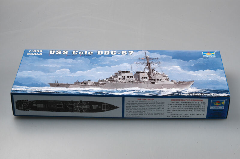 Trumpeter Boat Warship USS GGD-67 Guided Missile Destroyer Model 04524 1 350