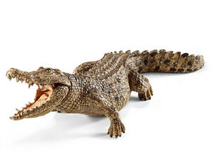 Schleich-14736-Crocodile-Wild-Reptile-Animal-Toy-Figurine-2015-NIP