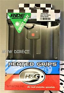 To Fit Suzuki Bandit 1250GT Faired 2008 R/&G Hot Heated Grips 22mm 7//8 Handlebar