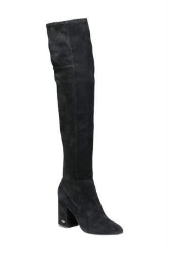 Cole Haan Darla Over the Knee OTK Boots Black Suede Womens Tall Boots Size 11