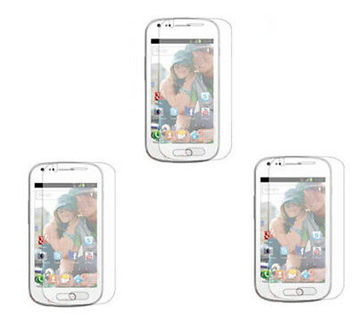 3 X Clear Screen Protector Guard Film For Samsung Galaxy S Trend Duos S7562