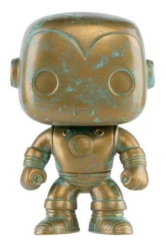-FUN422... RS Marvel 80th Anniversary Patina US Exclusive Pop Vinyl Iron Man