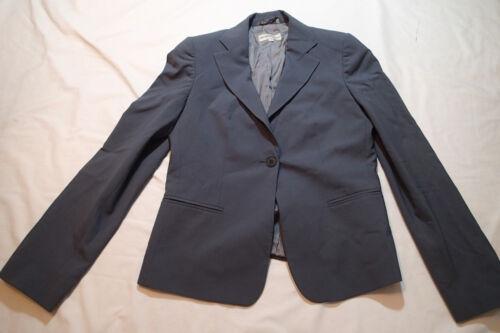 Emporio Armani Giacca Blazer Taglia da lana 10 misto donna Grigio wf1vwA