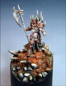 FidèLe Confrontation Ophidian Bregan, Apostat Des Ténèbres: Métal, Warhammer Chaos Lord-afficher Le Titre D'origine