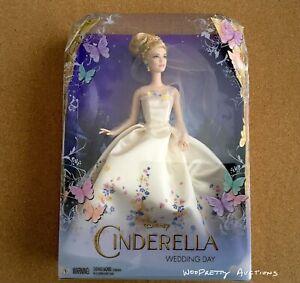 Cinderella-Wedding-Gown-Doll-Disney-Live-Action-Movie-Lily-James-Sealed-NIB