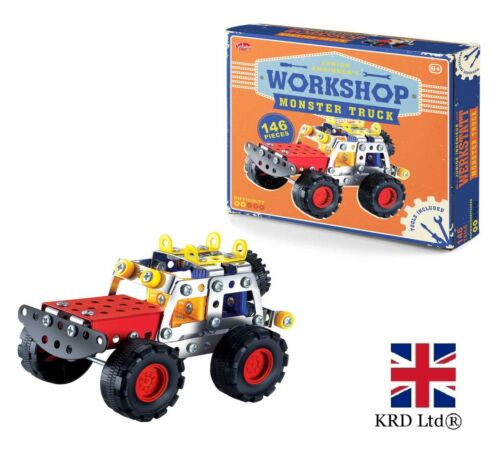 ENGINEER WORKSHOP TRUC Build Your Own Model Vehicle Christmas Gift Toy T28375 UK