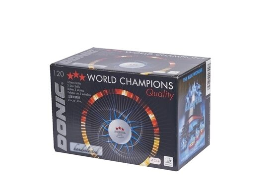 DONIC DONIC DONIC 40+  Cell-Free 120er Pack Wettkampf-Tischtennisbälle ITTF-Zulassung P 945df9