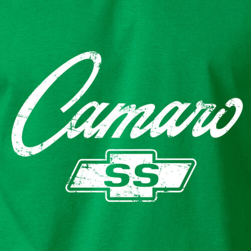 Camaro à Manches Courtes Logo T-Shirt-CHEVY CHEVROLET Classique American Muscle Car Hot Rod Tee