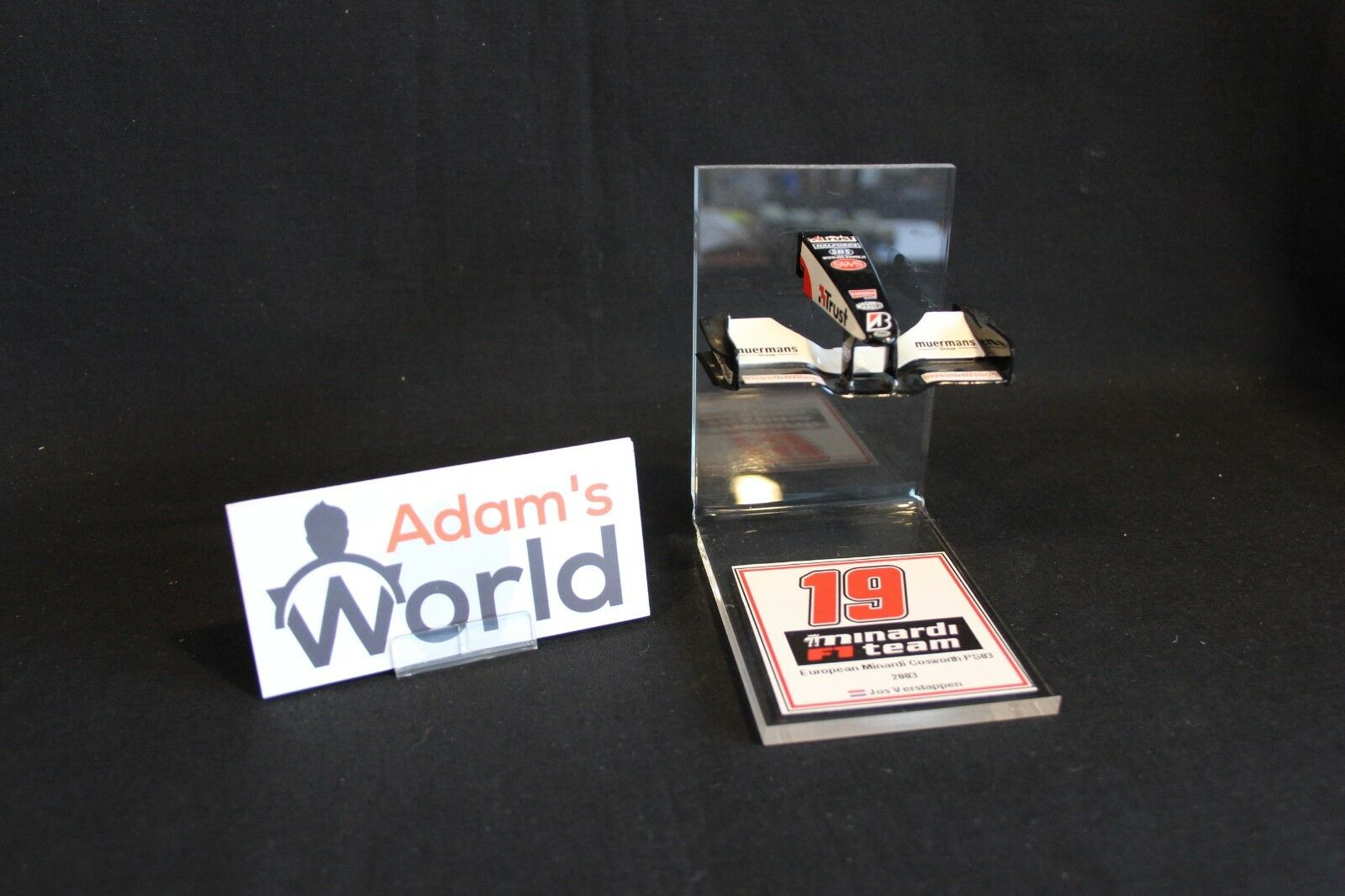 QSP Model Collection Nose Cone + Front Wing Minardi Cosworth PS03 2003 1 18