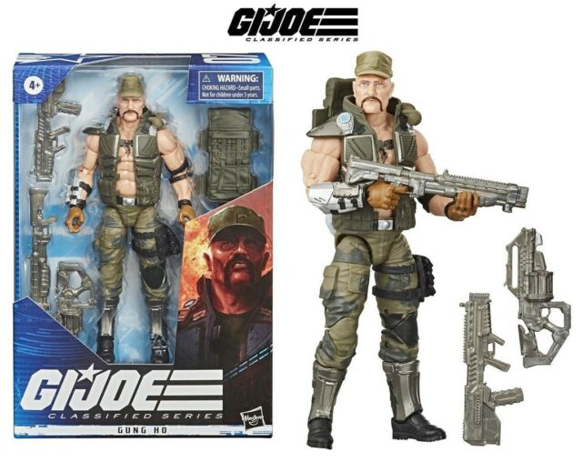 NEW G.I. Joe Classified 6 Inch AF Series 2 Gung Ho #07 HASBRO