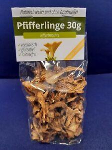 Pfifferlinge-Luftgetrocknet-5-30gramm-handverlesen-Pilze-150g