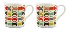 2 x Orla Kiely Car Park Mugs