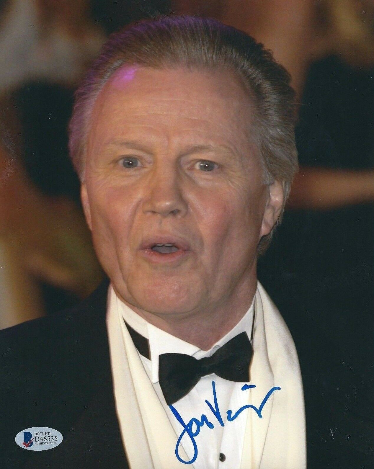 Jon Voight Signed 8x10 Photo Beckett BAS D46535