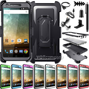 reputable site 7c095 1c17f Details about For ZTE Maven 3 Z835 Prestige N9132 2 N9136 Case Cover with  Accessory&Belt Clip