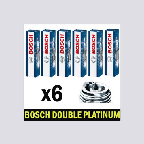 6x BOSCH Platino Candele per BMW e82 3.0 scelta 3//3 125i n52 218bhp
