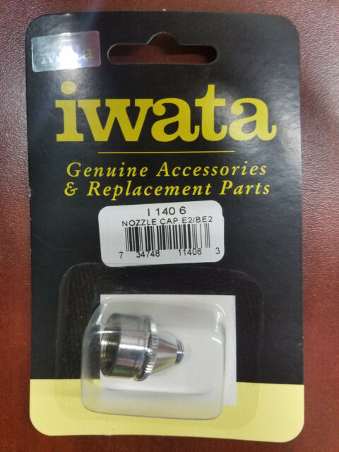 Iwata Nozzle Cap 0.35mm N 140 1 NEW Airbrush Anest Iwata