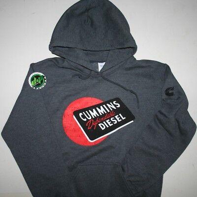 dodge cummins pullover red ball diesel hoodie sweater Cummings hooded SMALL S