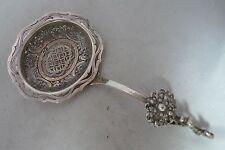 Antique Dutch Silver Sugar Sifter Spoon 16cm x 8.2cm 46g A602817