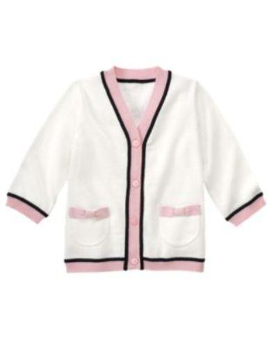 NWT Gymboree Girls Tres Fabulous Sweater Size 3-6 M 12-18 M