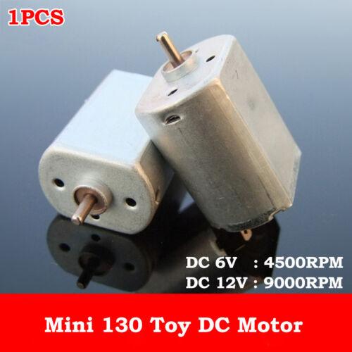DC 3V 5V 6V 12V 9000RPM Metal Brush Mini FP-130 DC Motor DIY Hobby Toy Car Model