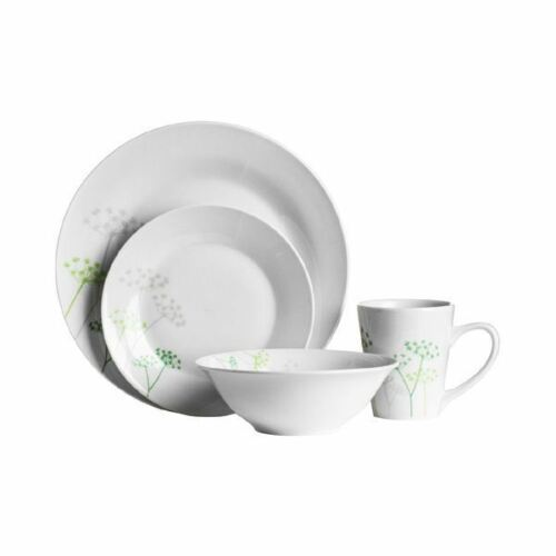 16pcs 12pcs dîner ensemble Vaisselle Salle à manger finition PORCELAINE ASSIETTES cups Bols