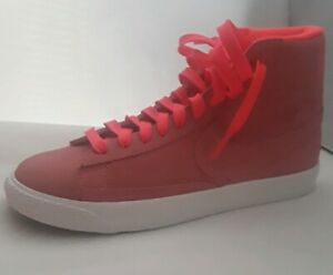 Nike-Blazer-Mid-Big-Kids-895850-605-034-Hot-Punch-White-034-Shoes-Youth-Brand-new