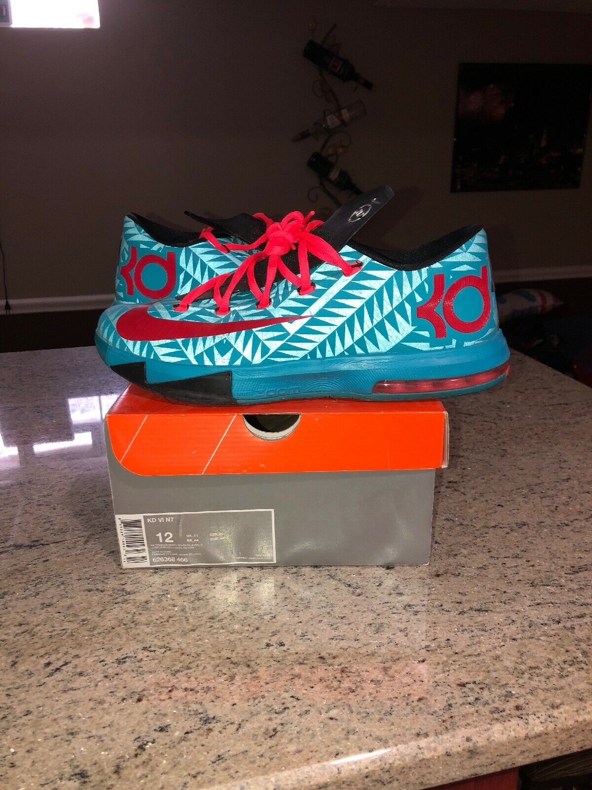 Nike Kd 6 N7 Size 12 Great Condition