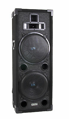 VM Audio 800 Watt 4 Way 8 Inch DJ Passive Loud Speaker System | VAS428P
