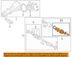 Peachy Subaru Oem 08 11 Impreza Rear Axle Inner Cv Constant Velocity Boot Wiring Database Hyediarchgelartorg
