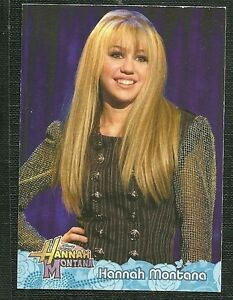 HANNAH MONTANA MILEY CYRUS Complete STICKER CARD BASE SET w/ ALL CHASE CARDS