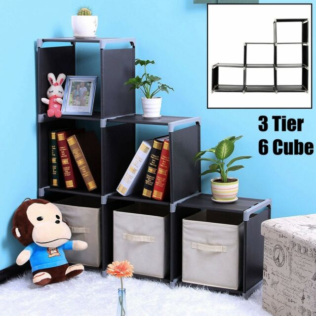 Phoenix 6 Cube Storage Unit White For